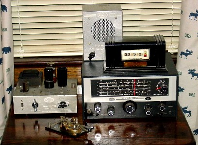 AMECO AC-1 transmitter, R5 receiver, CPO and Pennwood Numechron Tymeter.