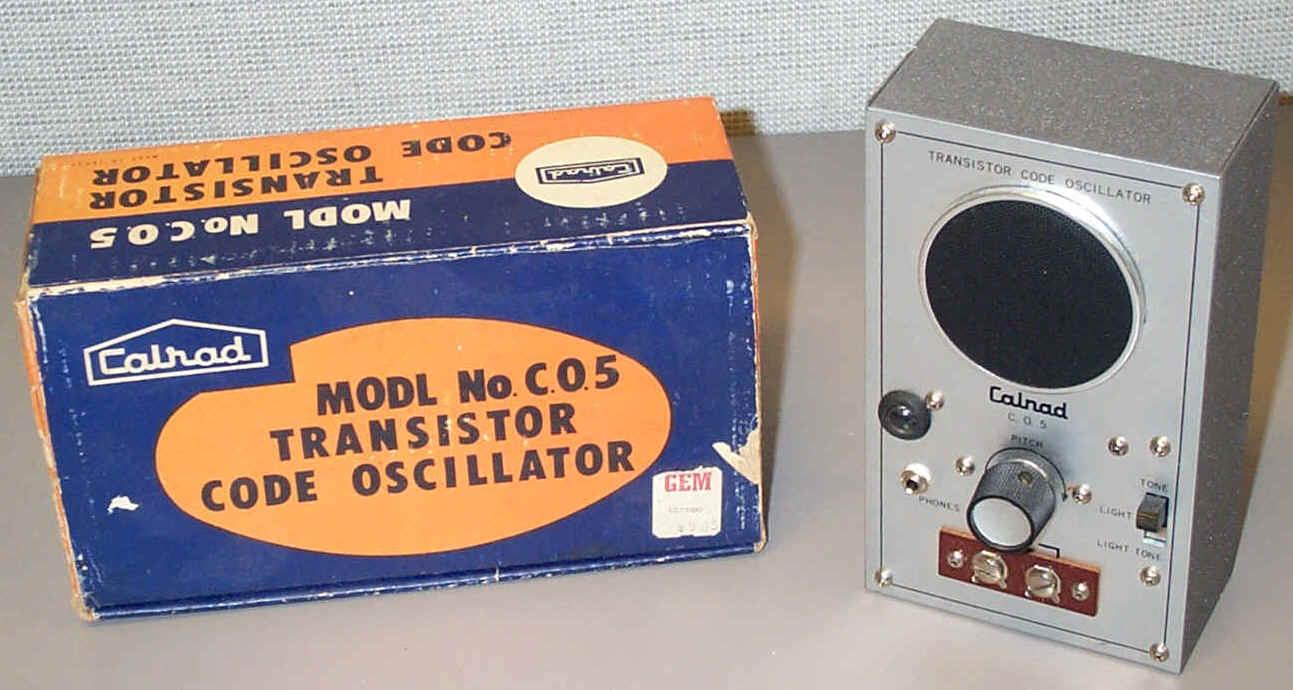 Cp012 Transistor Oscillators