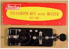 Monarch KY-100 Telegraph Key with Buzzer