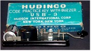 HUDINCO USB-3 Code Practice Key with Buzzer